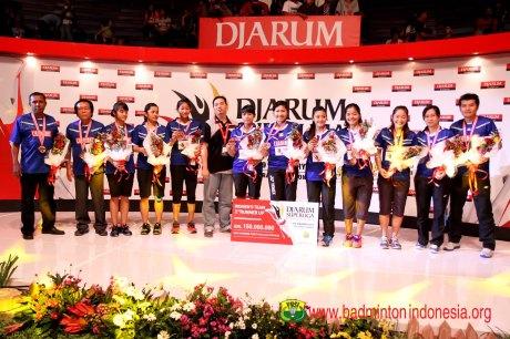 Juara Ketiga Mutiara Cardinal Bandung