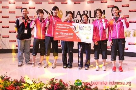 Juara Ketiga Renesas Japan